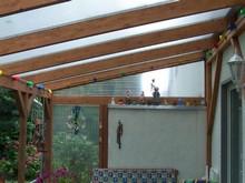 Erstellung eines Wintergartens mit Steegdoppelplatten